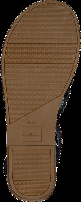 Schwarze TOMS Sandalen TOMS LEXIE 10015128  - large