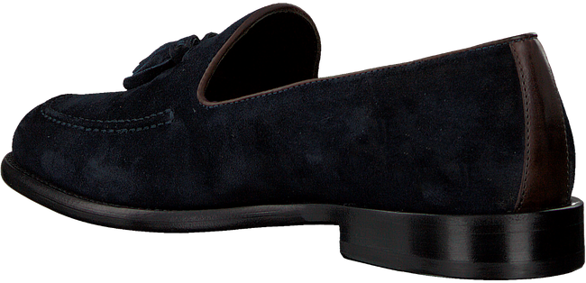 Blaue MAZZELTOV Loafer 9524  - large