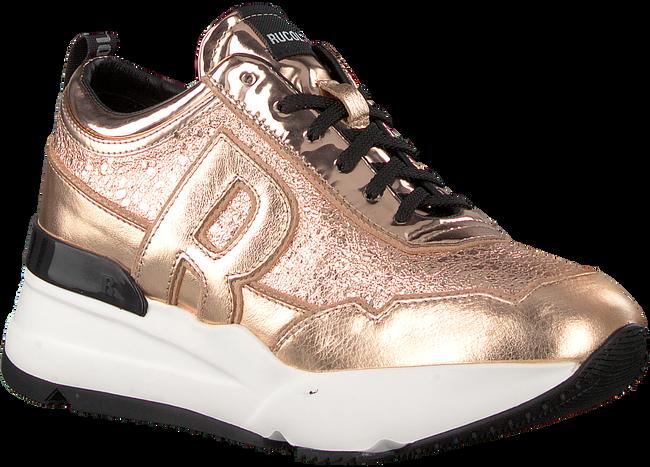 Schwarze RUCOLINE Sneaker 4041 FERRER MIRROR  - large