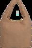 Braune UNISA Handtasche ZISNOW  - small