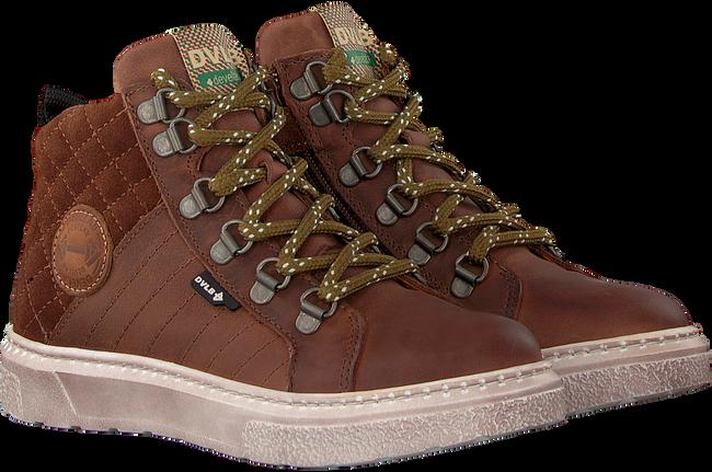 Cognacfarbene DEVELAB Sneaker high 41879  - large