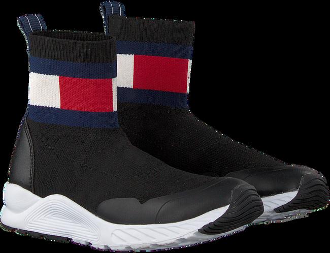 Schwarze TOMMY HILFIGER Sneaker high BOOTIE SNEAKER  - large