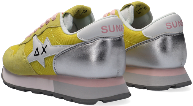 Gelbe SUN68 Sneaker low ALLY STAR BASIC W  - large
