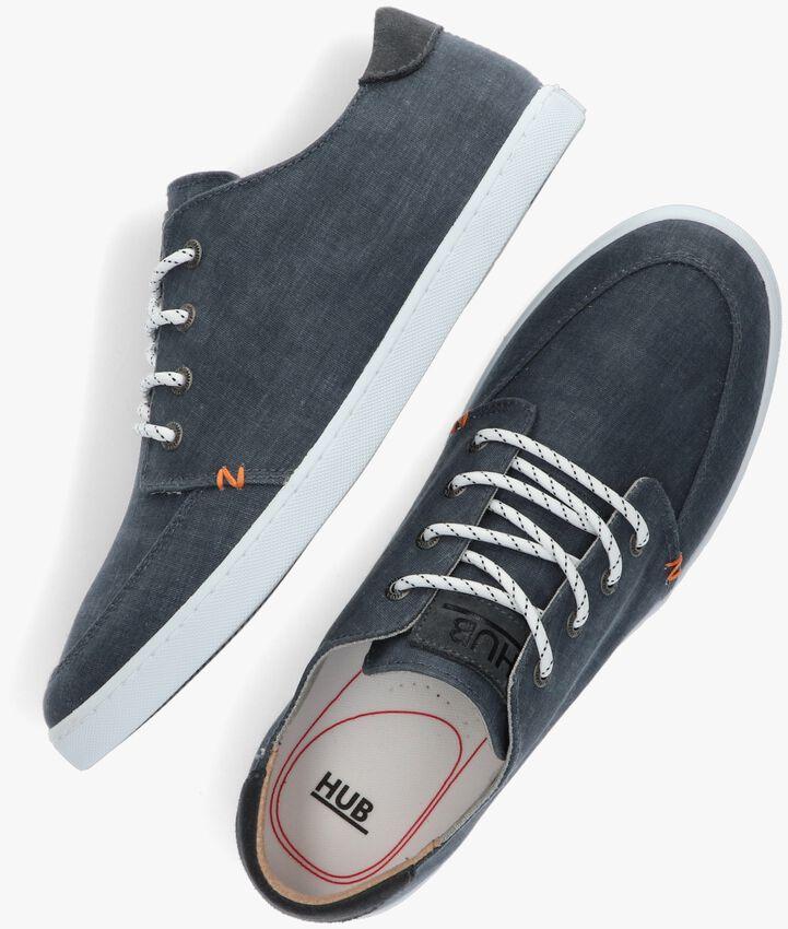 Blaue HUB Sneaker BOSS - larger