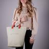 Beige MYOMY Shopper MY CIRCLE BAG SHOPPER  - small