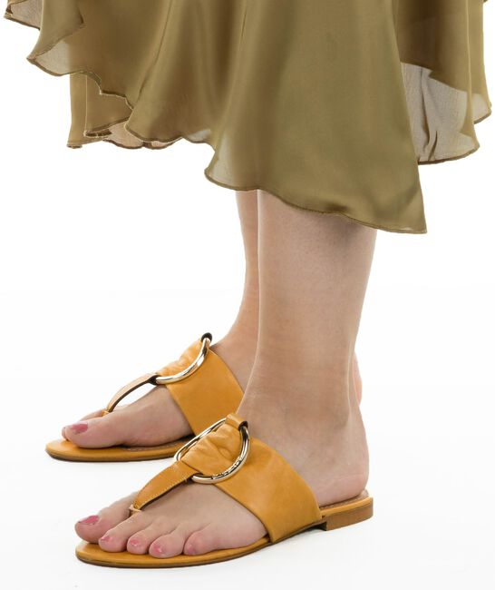 Gelbe SCAPA Pantolette 21/17158  - large