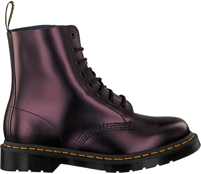 Rote DR MARTENS Schnürboots 1460 PASCAL  - large