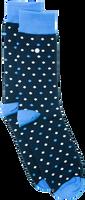 Blaue Alfredo Gonzales Socken POLKA DOTS  - medium