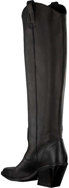 Schwarze BRONX Hohe Stiefel LOW-KOLE 14188  - large