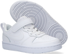 Weiße NIKE Sneaker low COURT BOROUGH LOW 2 (PS)  - small