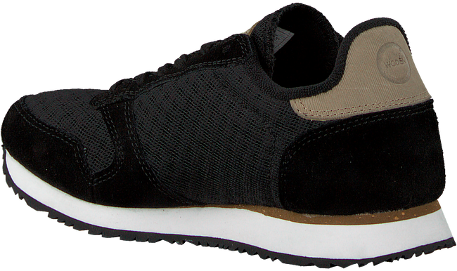 Schwarze WODEN Sneaker YDUN SUEDE MESH  - large