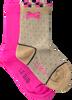 Mehrfarbige/Bunte LE BIG Socken TYSKE SOCK 2-PACK  - small