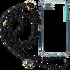 Schwarze KASCHA-C Handy-Schutzhülle PHONECORD IPHONE 7+/8+  - small