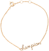 Goldfarbene ALLTHELUCKINTHEWORLD Armband URBAN BRACELET CHAMPION - small