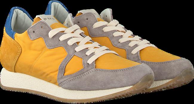Gelbe PHILIPPE MODEL Sneaker MONACO VINTAGE  - large