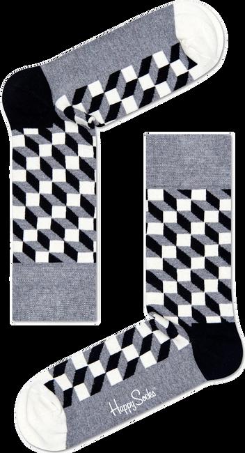Graue HAPPY SOCKS Socken FILLED OPTIC - large