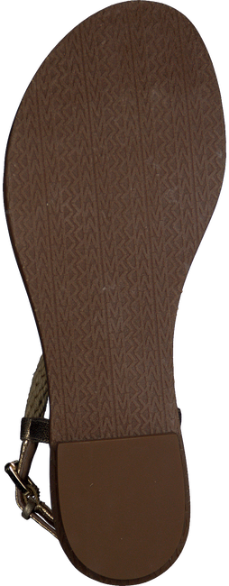 Goldfarbene MICHAEL KORS Sandalen HOLLY SANDAL - large