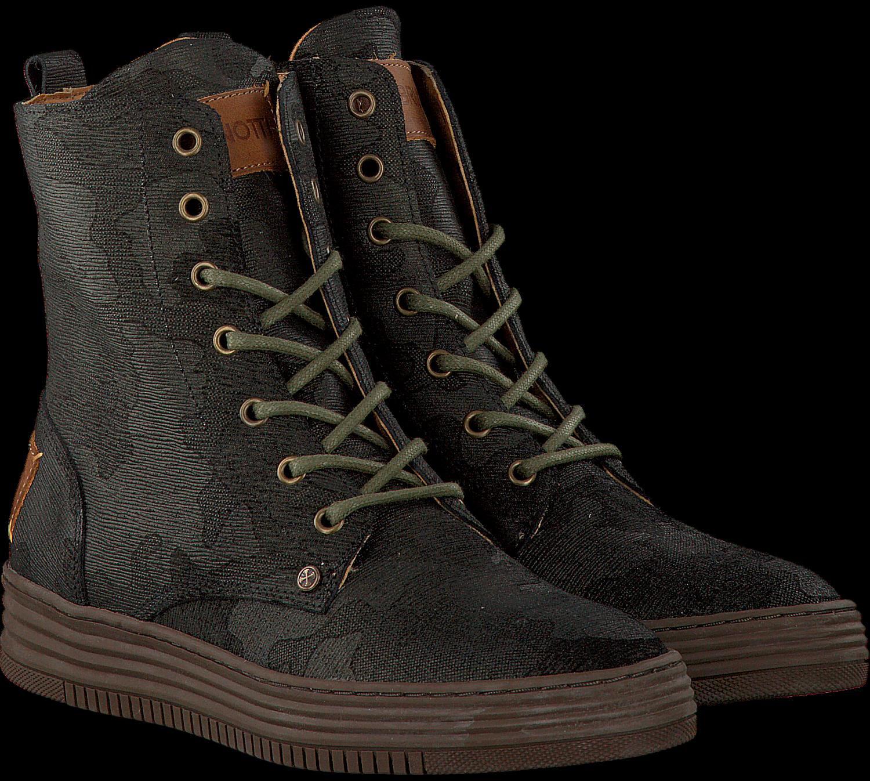 Grüne BRUNOTTI Ankle Boots MAROLA HIGH CAMO