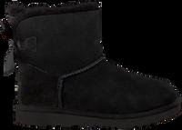Schwarze UGG Ankle Boots MINI BAILEY BOW II KIDS - medium