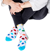 Weiße HAPPY SOCKS Socken PRIDE BIG DOT  - small
