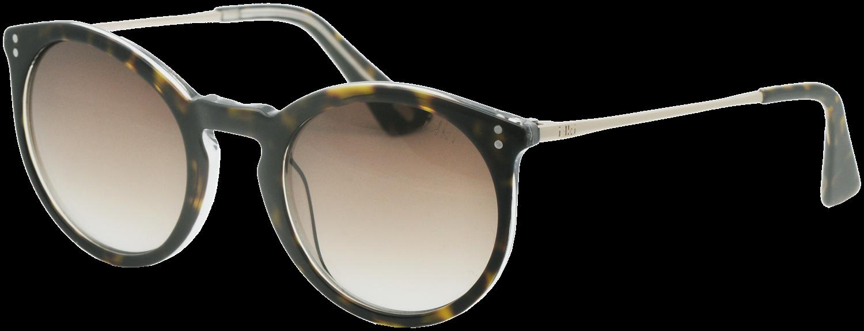 Braune IKKI Sonnenbrille LUNA 91tmO