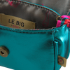 Grüne LE BIG Umhängetasche PELIPA BAG  - small