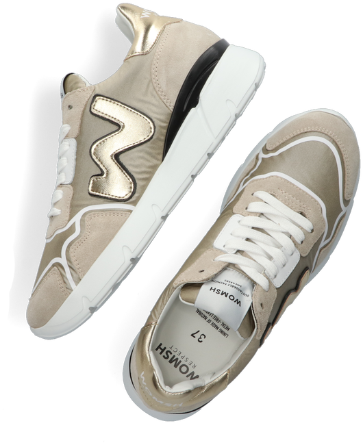 Beige WOMSH Sneaker low RUNNY  - large