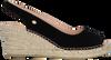 Schwarze FRED DE LA BRETONIERE Espadrilles 153010157 FRS0176  - small