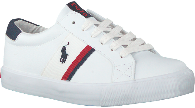 Weiße POLO RALPH LAUREN Sneaker low GAFFNEY  - large