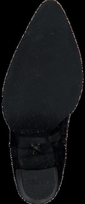 Schwarze BRONX Stiefeletten NEW-AMERICANA 34150  - large