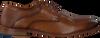 Cognacfarbene MAZZELTOV Business Schuhe 5053  - small