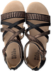 Schwarze BULLBOXER Sandalen AED031FIS - small