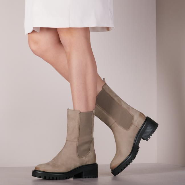 Beige PS POELMAN Chelsea Boots LPCKLARA-63  - large