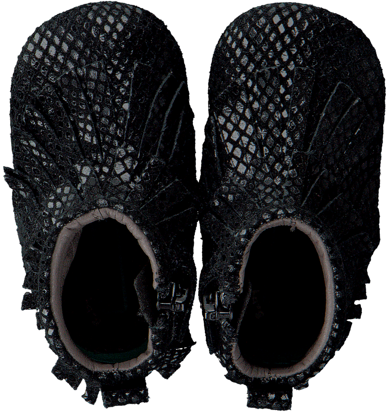 Schwarze BUNNIES JR Babyschuhe ZOZO ZACHT  - larger