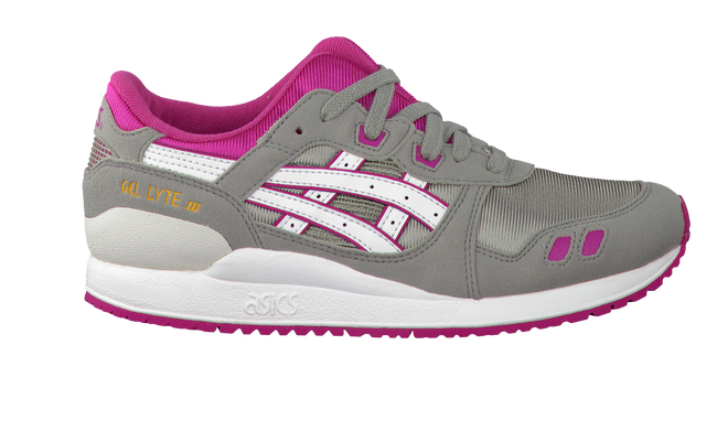 Graue ASICS TIGER Sneaker GEL LYTE III KIDS - large