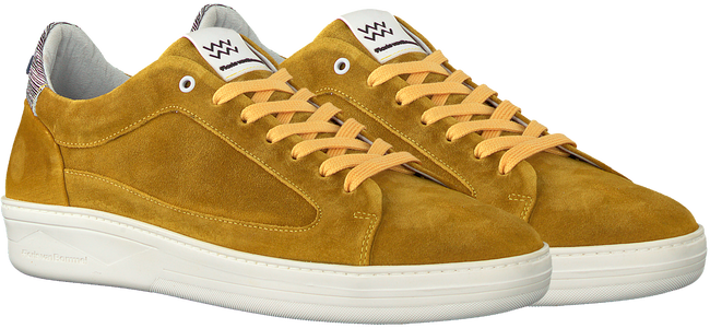 Gelbe FLORIS VAN BOMMEL Sneaker low 13265  - large