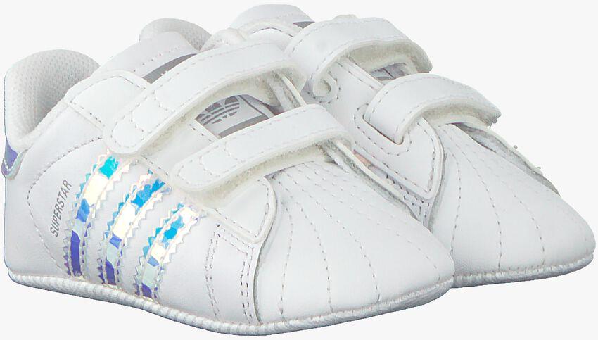 Weiße ADIDAS Babyschuhe SUPERSTAR CRIB  - larger