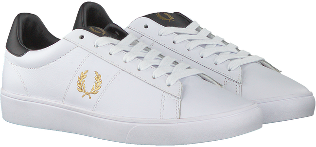 Weiße FRED PERRY Sneaker low B8255  - large