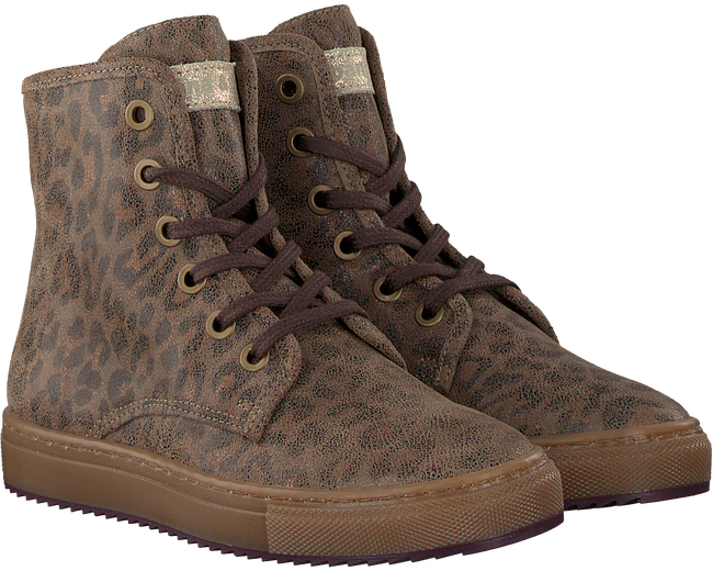 Taupe BANA&CO Schnürboots 72760 - large
