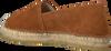 Cognacfarbene FRED DE LA BRETONIERE Espadrilles 152010138  - small