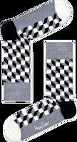 Graue HAPPY SOCKS Socken FILLED OPTIC - medium