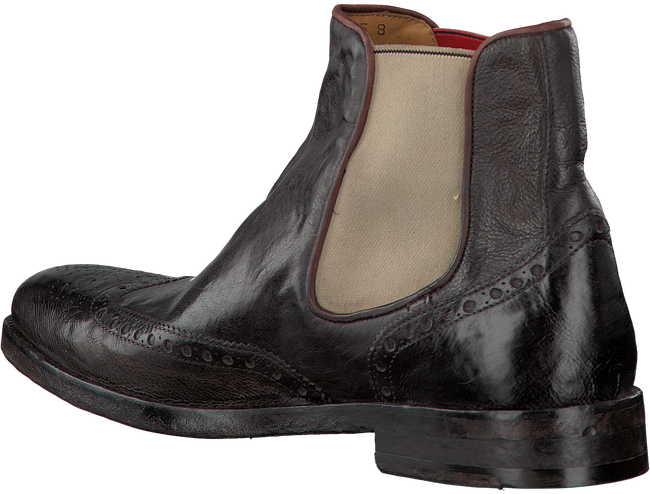 Braune GREVE Ankle Boots CABERNET CHELSEA - large