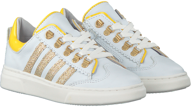 Weiße PINOCCHIO Sneaker low P1327  - large