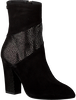 Schwarze FLORIS VAN BOMMEL Stiefeletten 85622  - small