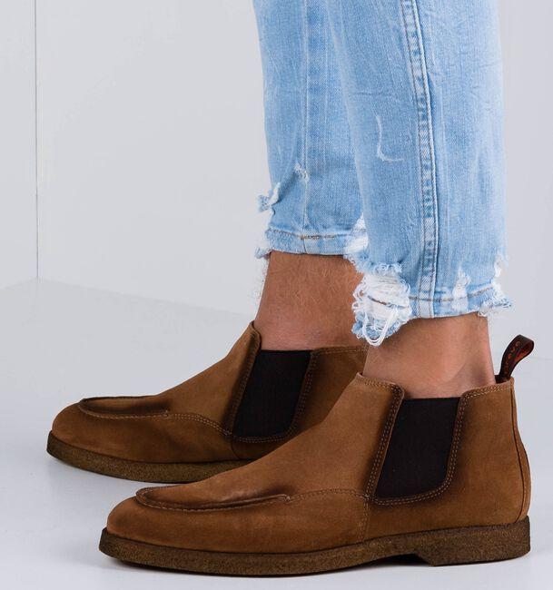 Cognacfarbene GREVE Chelsea Boots TUFO  - large