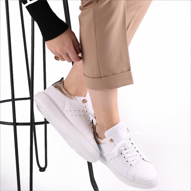 Weiße NUBIKK Sneaker ROX  - large