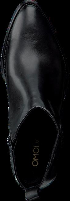 Schwarze OMODA Stiefeletten 760201  - large