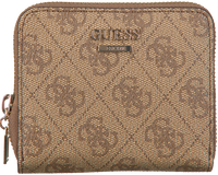 Braune GUESS Portemonnaie CATHLEEN SLG CHEQUE SMALL ZIP  - medium