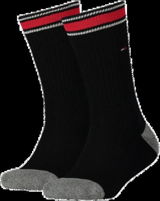 Schwarze TOMMY HILFIGER Socken TH KIDS ICONIC SPORTS SOCK 2P - large