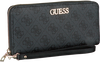 Graue GUESS Portemonnaie ALBY SLG LARGE ZIP AROUND  - small